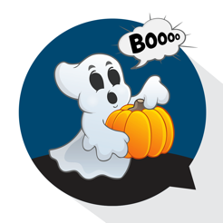 ‎Halloween Wallpaper Sticker HD