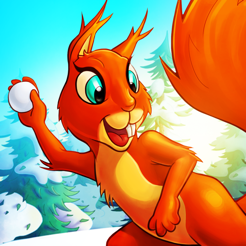 ‎Pato & Friends Snowball Fight HD