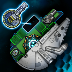 ‎Space Arena: Build & Fight MMO