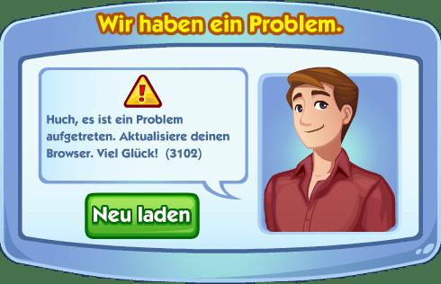 Sims Social Verbindungsproblem