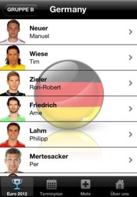 EM 2012 EURO App