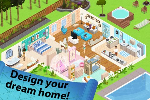 Home design story app Create your house game
