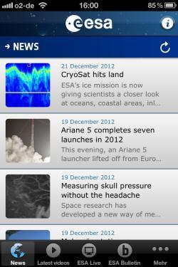 ESA_App_News