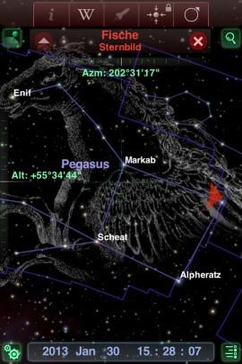 Redshift_Astronomie_App_Pegasus