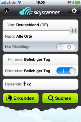 Skyscanner_App_Suche