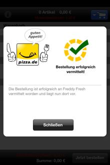 pizzade_App_Bestellbestätigung
