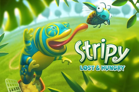 stripy lost and hungry