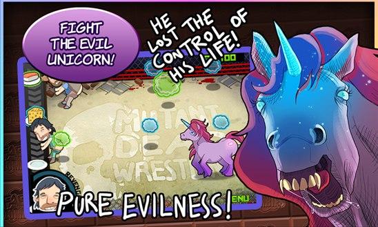 Farts vs Zombies Evil Unicorn