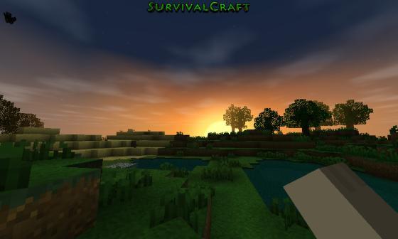Survivalcraft_Sonnenuntergang