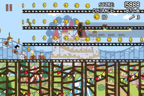 Snoopy_Coaster_App