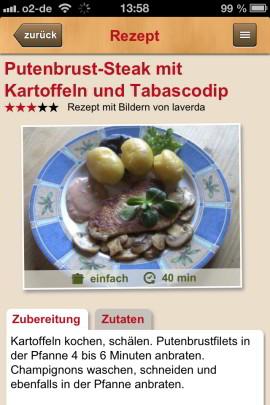 Kochrezepte_de_App_Putenbrust