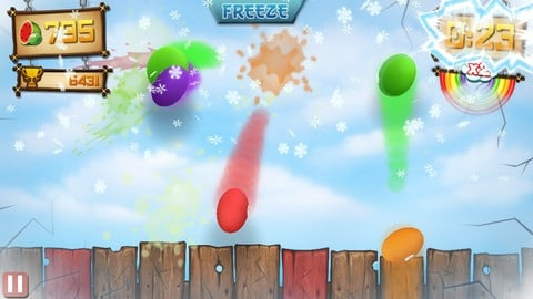 fruit ninja vs skittles app
