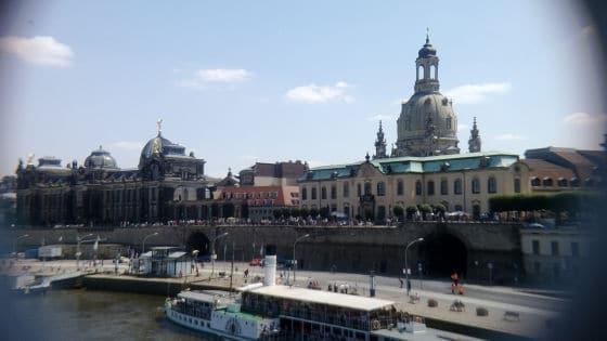 Dresden mit Telelinse