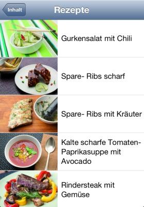 Grillen und Chillen App Thomas Sixt