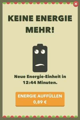 Wahr oder Falsch - Das Spiel Energie
