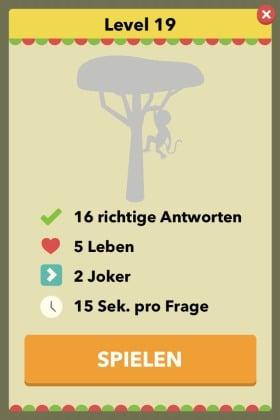 Wahr oder Falsch - Das Spiel Level 19