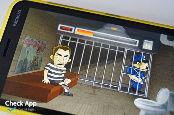 prison break rush windows phone
