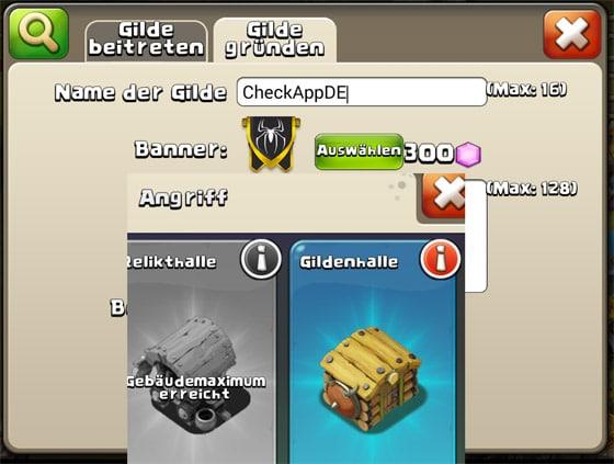 Castle_Clash_Schlosskonflikt_Gilden