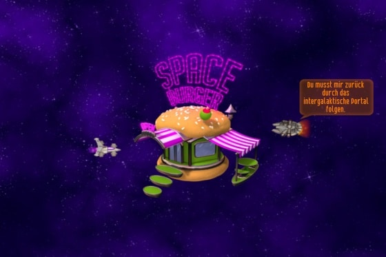chicken invaders 4 space burger