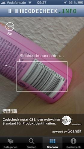 codecheck_app_scannen