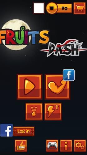 fruitsdash_app_menü