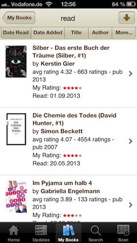 goodreads_app_buecherregal