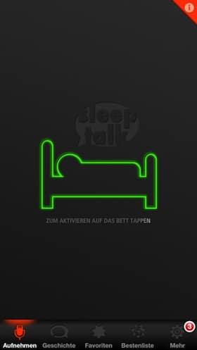 sleeptalk_app_aktivieren
