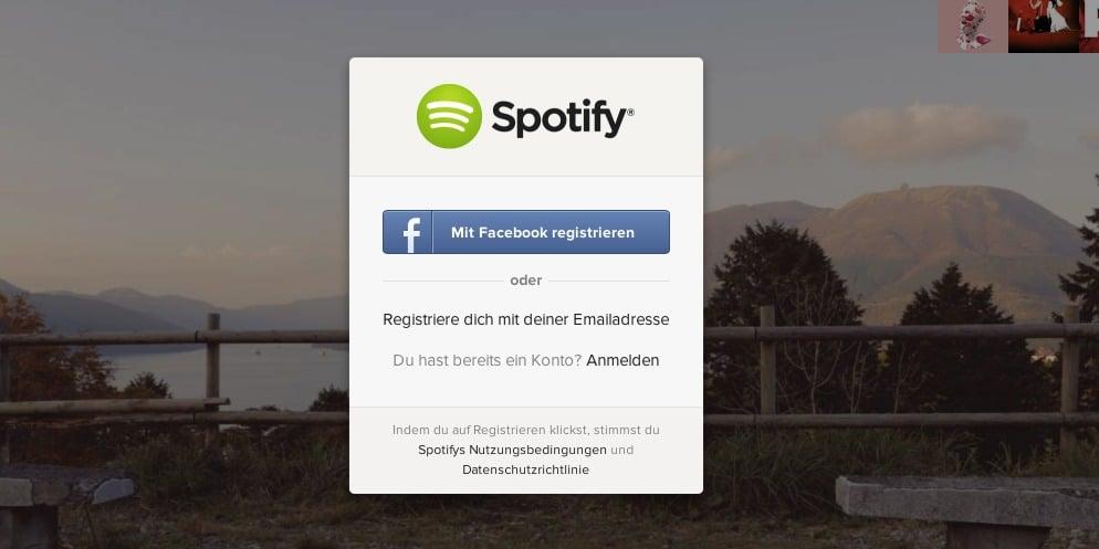 spotify_app_anmeldung