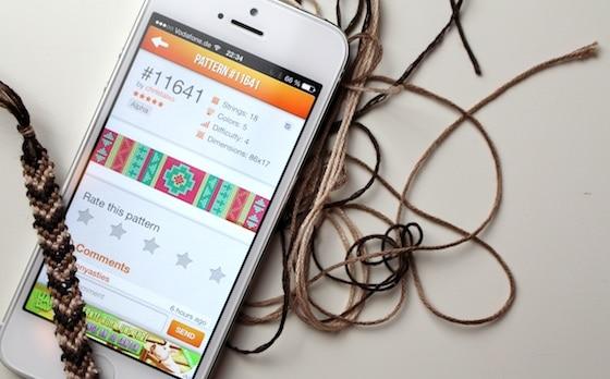 braceletbook_app_titel - Armbander Knupfen Muster
