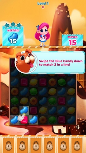 candy crush anzahl level