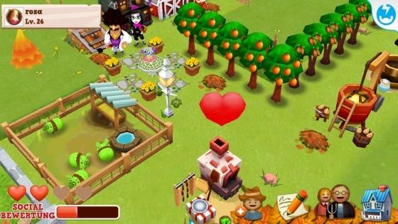 farm story 2 halloween nachbarn