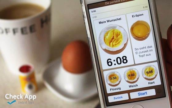 die perfekte eieruhr app f r ios und android. Black Bedroom Furniture Sets. Home Design Ideas