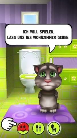 My Talking Tom Toilette