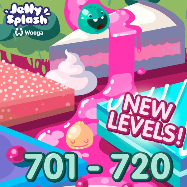 jelly splash level 701-720