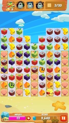 juice cubes shells