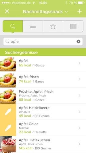 shapeup_app_suchen