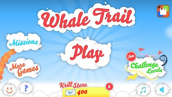 whaletrail_app_menü