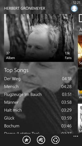 Deezer_App_Alben