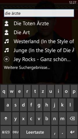 Deezer_App_Suche