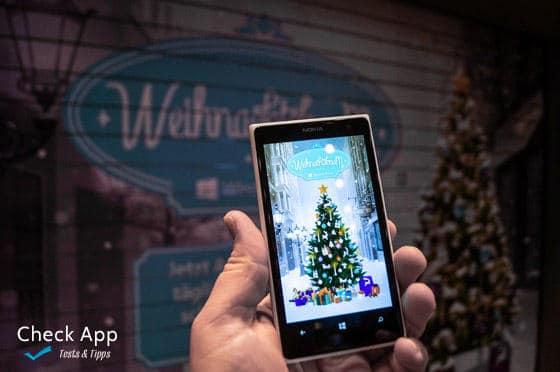 mit der windows phone weihnachtsbaum app tolle preise. Black Bedroom Furniture Sets. Home Design Ideas