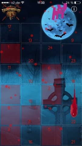 zombie adventskalender