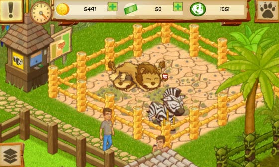 Animal Park Tycoon Zebra