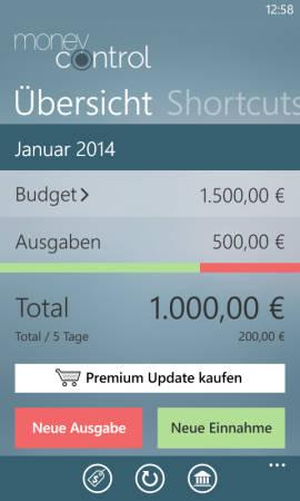 MoneyControl_Uebersicht