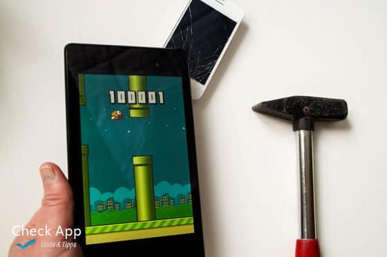 Flappy Bird Highscore - am einfachsten mit einem Werkzeug zu erreichen