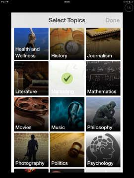 Quora_App_Topics