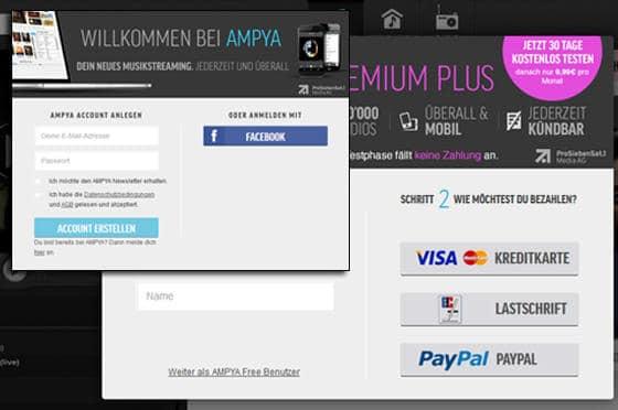 Ampya_App_Registrierung