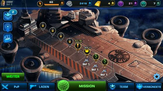 Avengers_Alliance_App_Android_Helden_Flugplatz