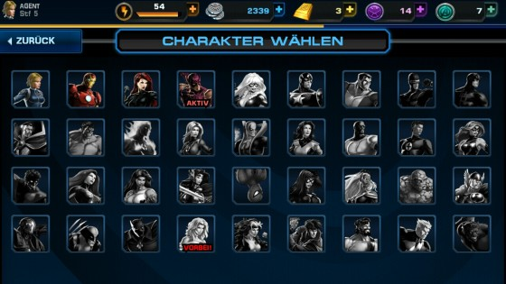 Avengers_Alliance_App_Android_Helden_Team