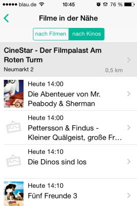 Cinery_App_Check_Kinoprogramm_Deutschland_Filme_Naehe_Kinos