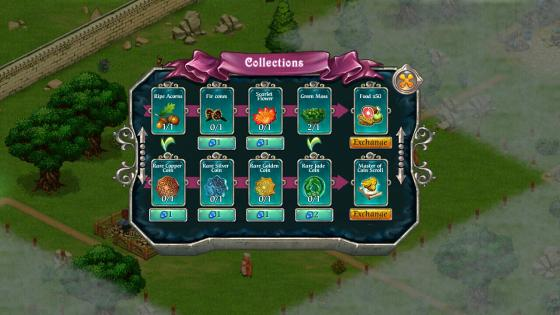 Fairy_Kingdom_App_Fable_Kingdom_Bewertung_Collections_Menue